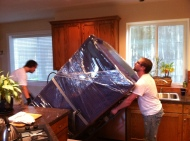 Moving a large Refrigerator